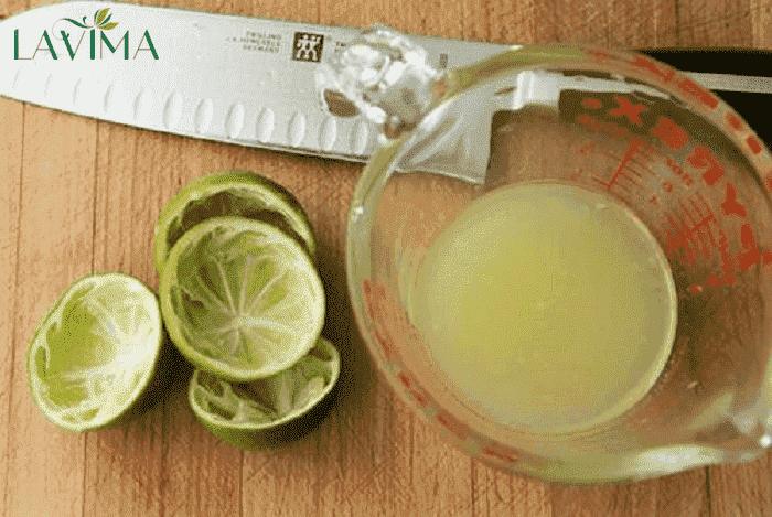 Chữa nấm Candida ở nam giới bằng nước cốt chanh