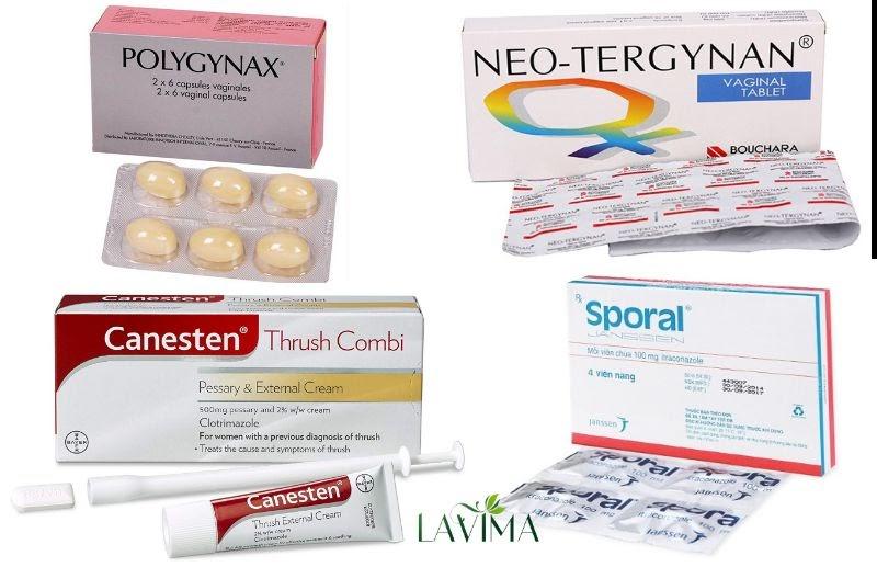 thuốc đặc trị viêm nhiễm phụ khoa