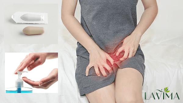 Kết hợp dung dịch vệ sinh phụ nữ và thuốc đặt để chữa viêm phụ khoa tốt nhất