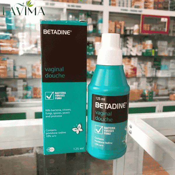 Dung dịch vệ sinh phụ nữ Betadine Vaginal Douche